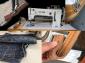 粗线厚料缝纫机志工牌SGB4-6大摆梭复合送料大同步车沙发帐篷针车